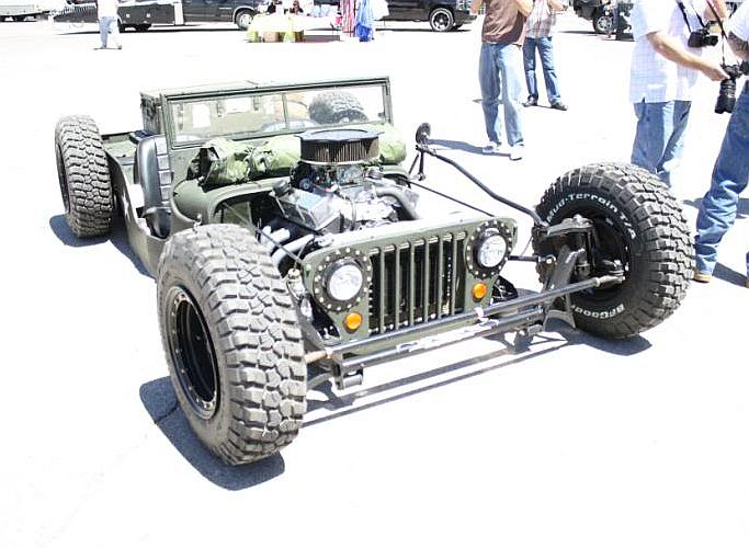 Hot Rod E Kustom Jeep Willys 1945 Hot Rod V8