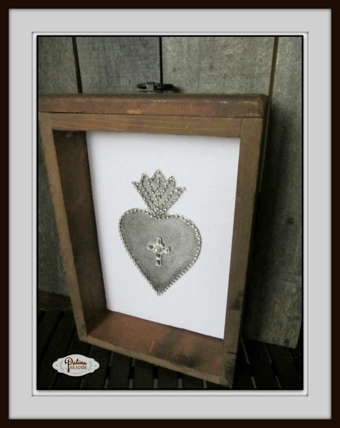 DIY Ex-Voto Sacred Heart