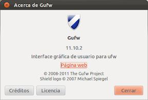 El cortafuegos en Ubuntu, o de Firestarter a GUFW
