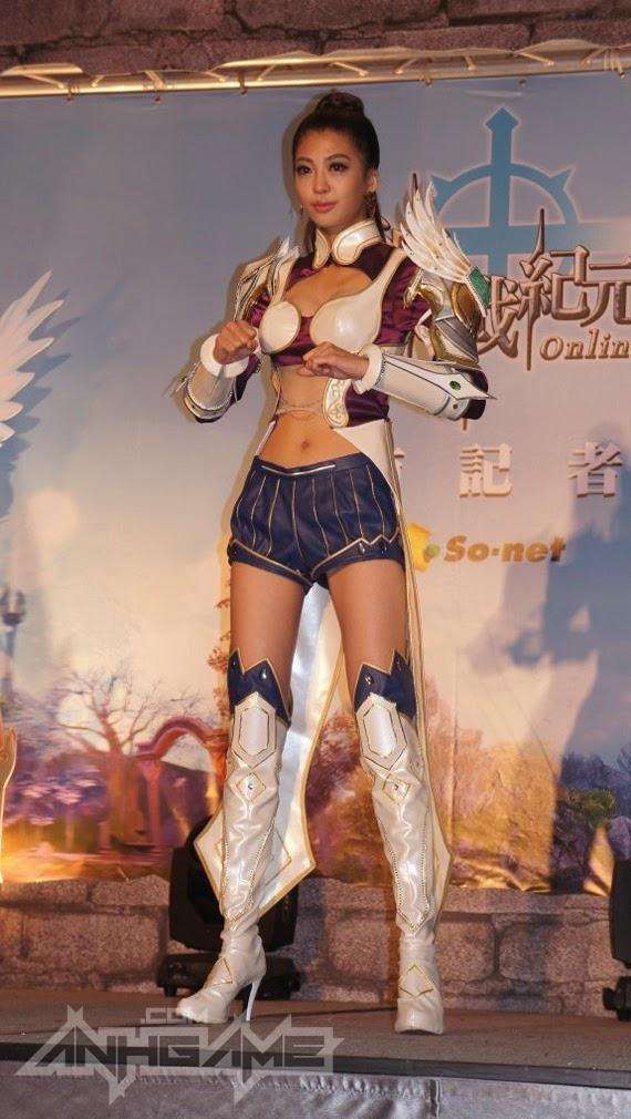 Ngắm cosplay trong lễ ra mắt Thần Chiến Kỉ Nguyên - Ảnh 7