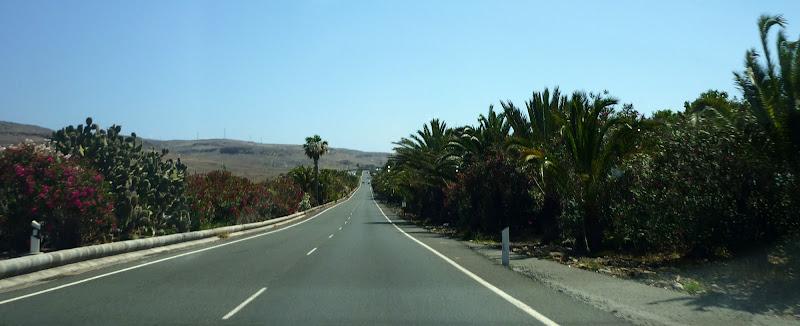 Straße im Süden Gran Canarias