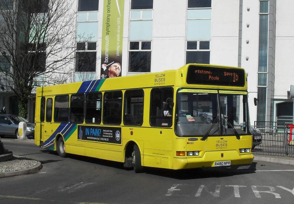 Southern England Bus Scene Poole Report 2