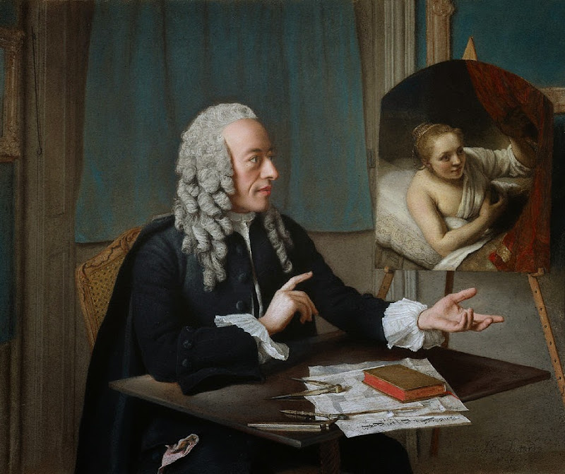 Jean-Étienne Liotard - Portrait of François Tronchin