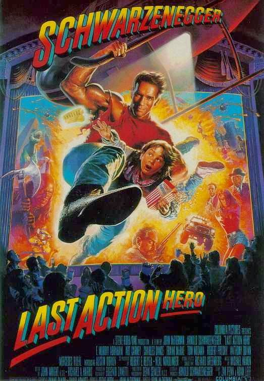 Poster Of Last Action Hero (1993) Full Movie Hindi Dubbed Free Download Watch Online At alldownloads4u.com