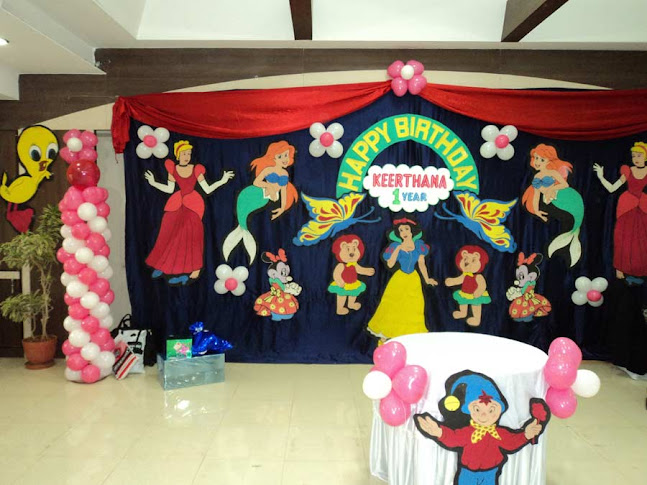 Image for Balloon decoration for naming ceremony