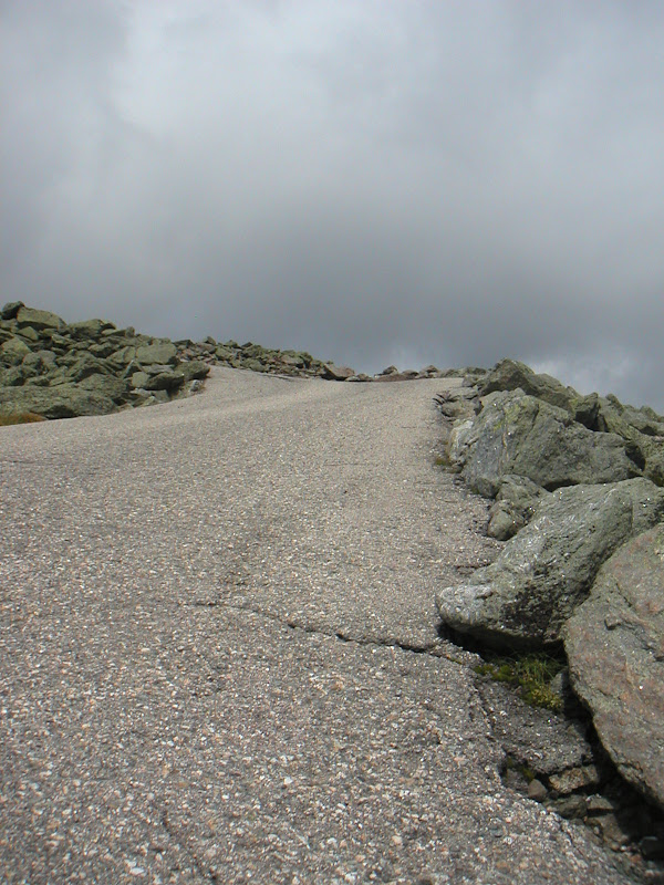 Mount Washington Hillclimb • 80% Paved Road Surface