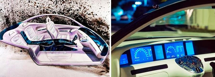 Dark Roasted Blend Joystick Car Dashboard Concepts
