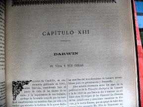 Capítulo dedicado a Darwin.