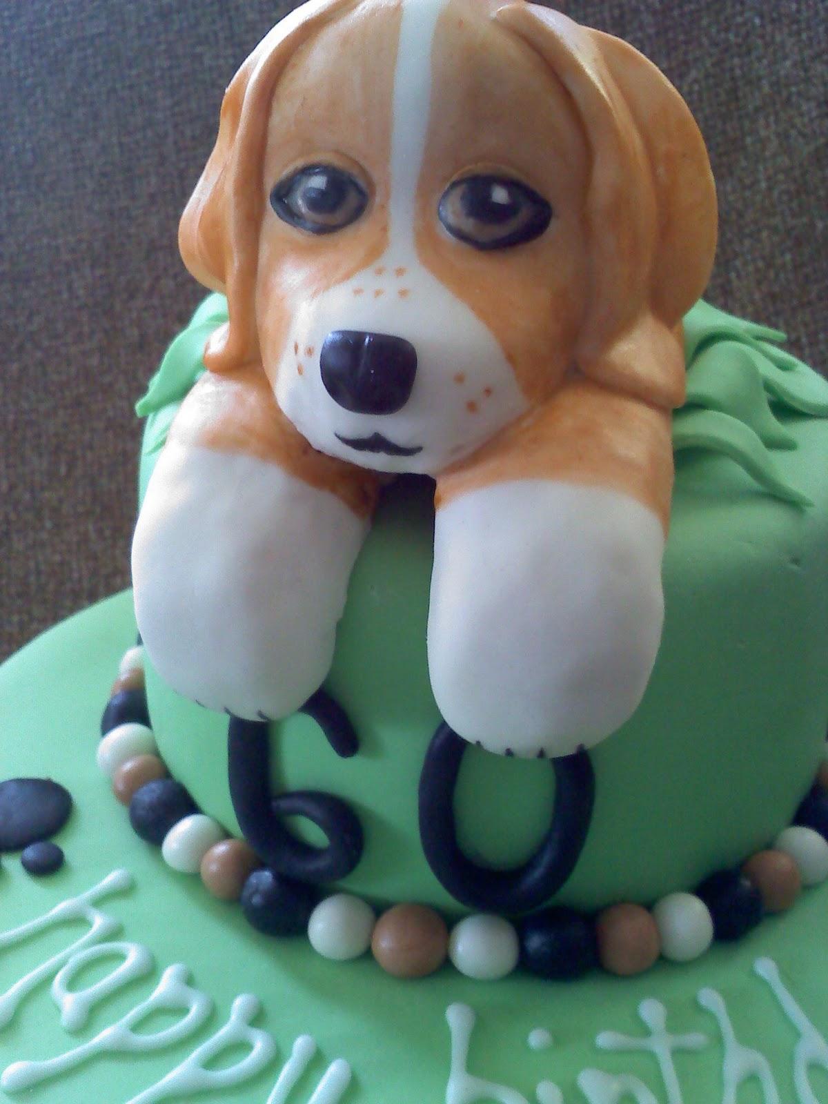 Sweet Shari Cakes Beagle Birthday