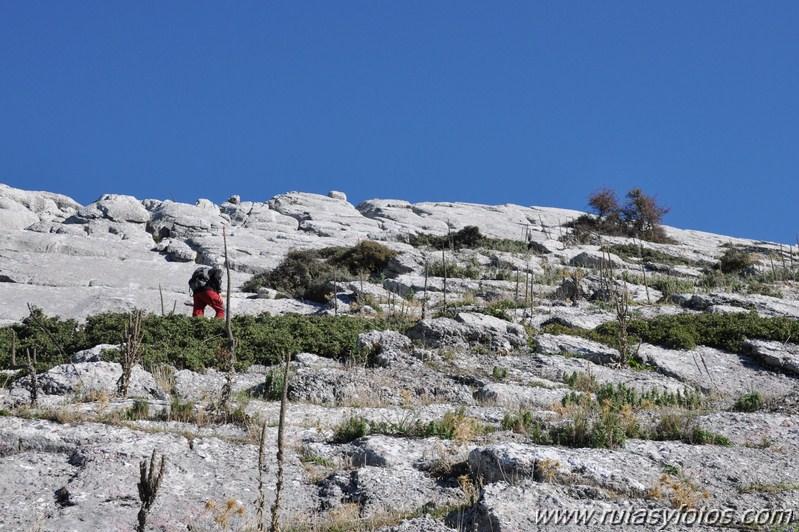Subida al Cerro de Zurraque y Tinajo