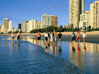 Sprachaufenthalt Surfers Paradise - Gold Coast Beach Walk