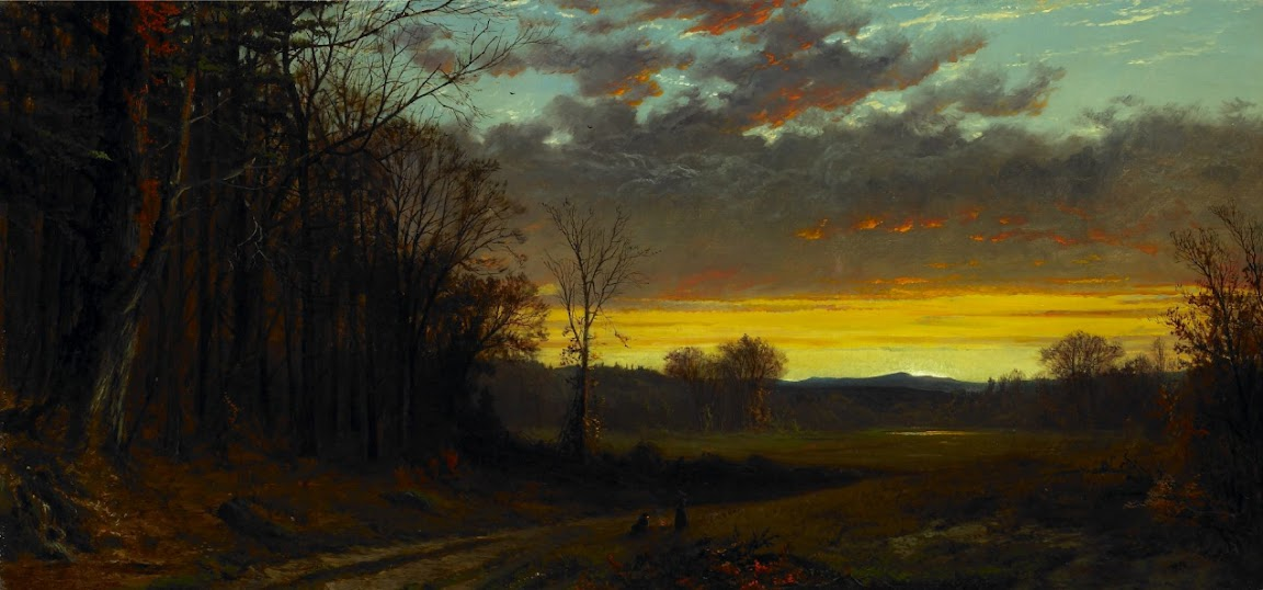 Alfred Thompson Bricher - Twilight in the Wilderness