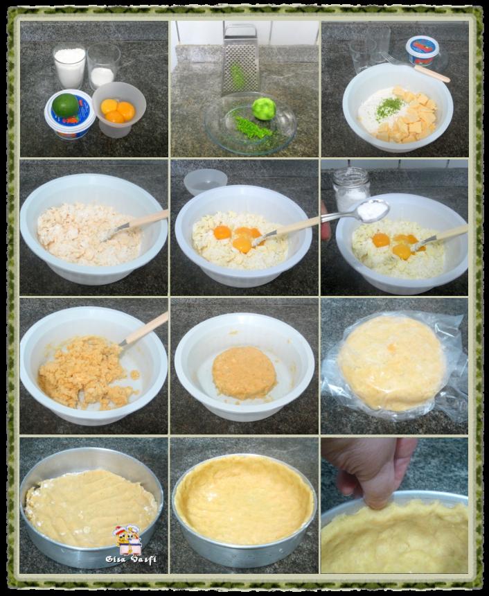 Torta de coco e abacaxi 3