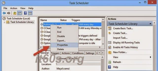 Cách lên lịch tự động tắt máy tính định sẵn trên Windows 8