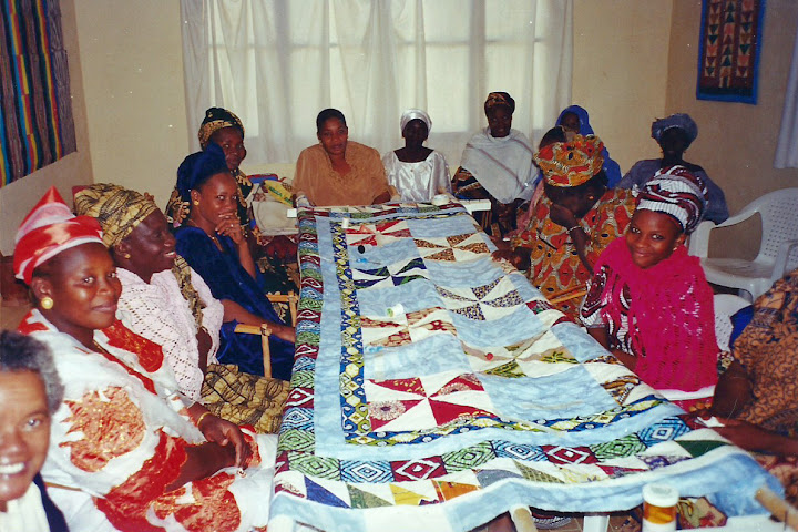 Quilters in Mali