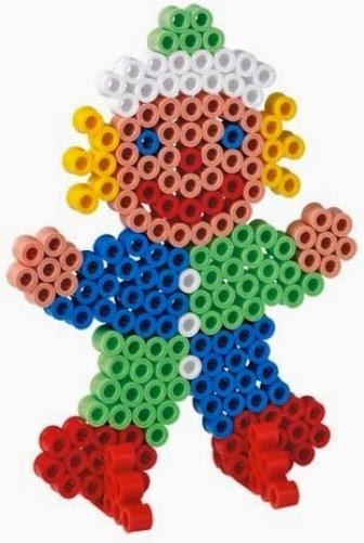 Bộ xếp hình Hama 8917 Maxi hình Chú hề giúp trẻ thỏa sức chơi vui