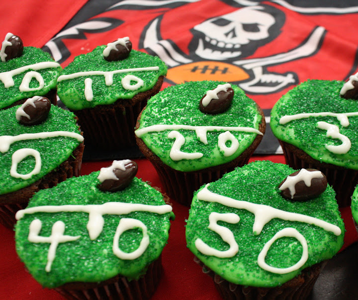 Are You Ready for Some Football and Tailgate Cupcakes?