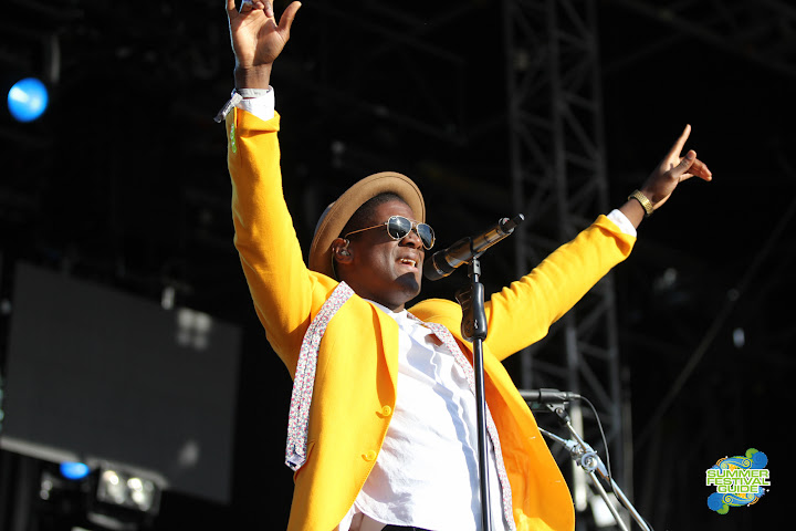 Labrinth @ Global Gathering 2012