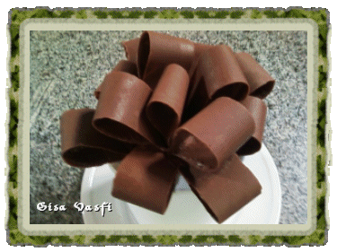 Laços de chocolate 1
