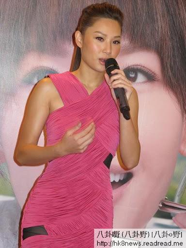 徐子珊以Methode SWISS護膚產品代言人的身份來馬來西亞宣傳