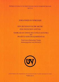 [Schneider: Eine buddhistische Kritik der indischen Götter, 2014]