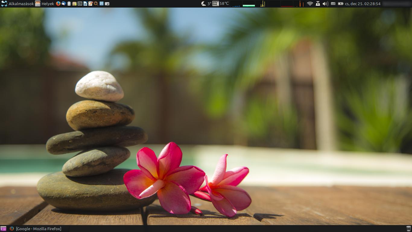 Saját Xubuntu asztal