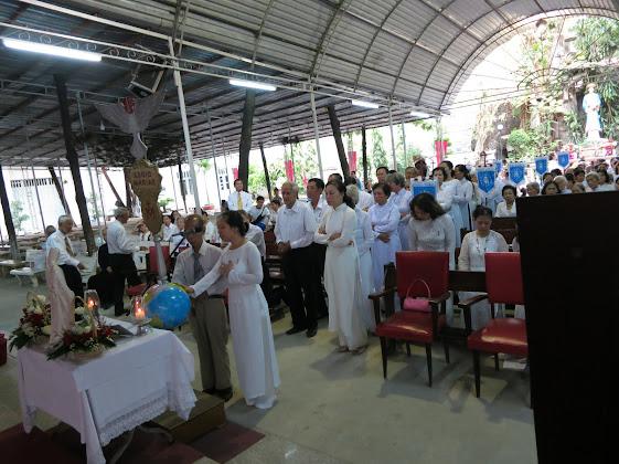 Đại hội ACIES hội đồng Curia Phú Thọ 2 tại nhà thờ Đồng Tiến