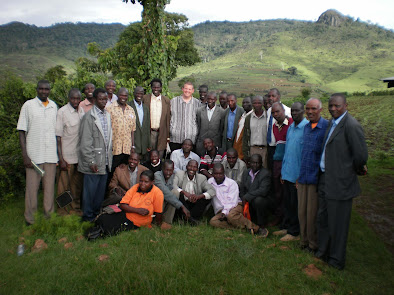 Pastors at Chesower, Uganda