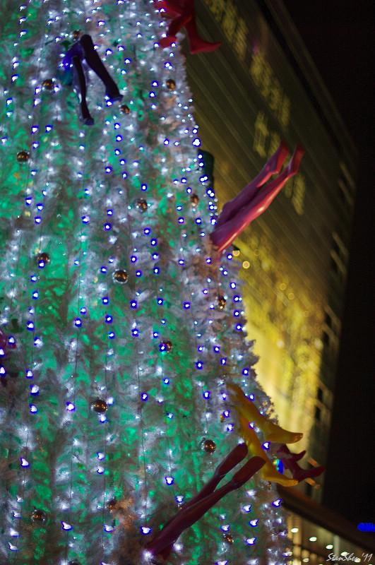 今夜的信義新天地,很耶誕(A50/1.2)