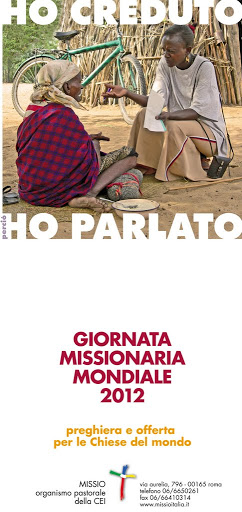 Giornata Missionaria Mondiale 2012