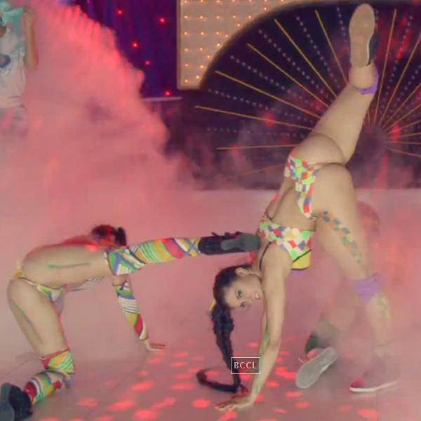 "Major Lazer did in a colourful way, while shooting for the video, ""Bubble Butt."""