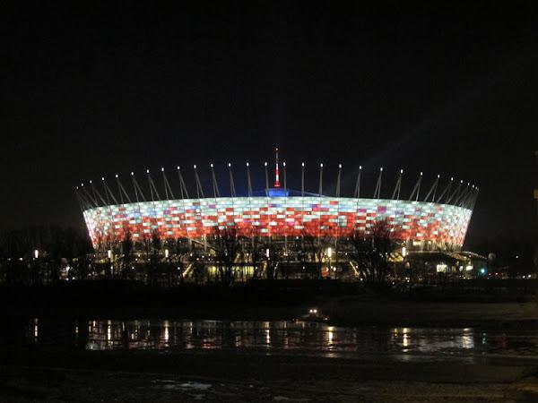 Estadio de la Eurocopa 2012 en Varsovia