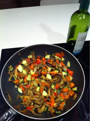 Recetas f ciles para cocinar con wok wok de verduras al for Cocinar con wok