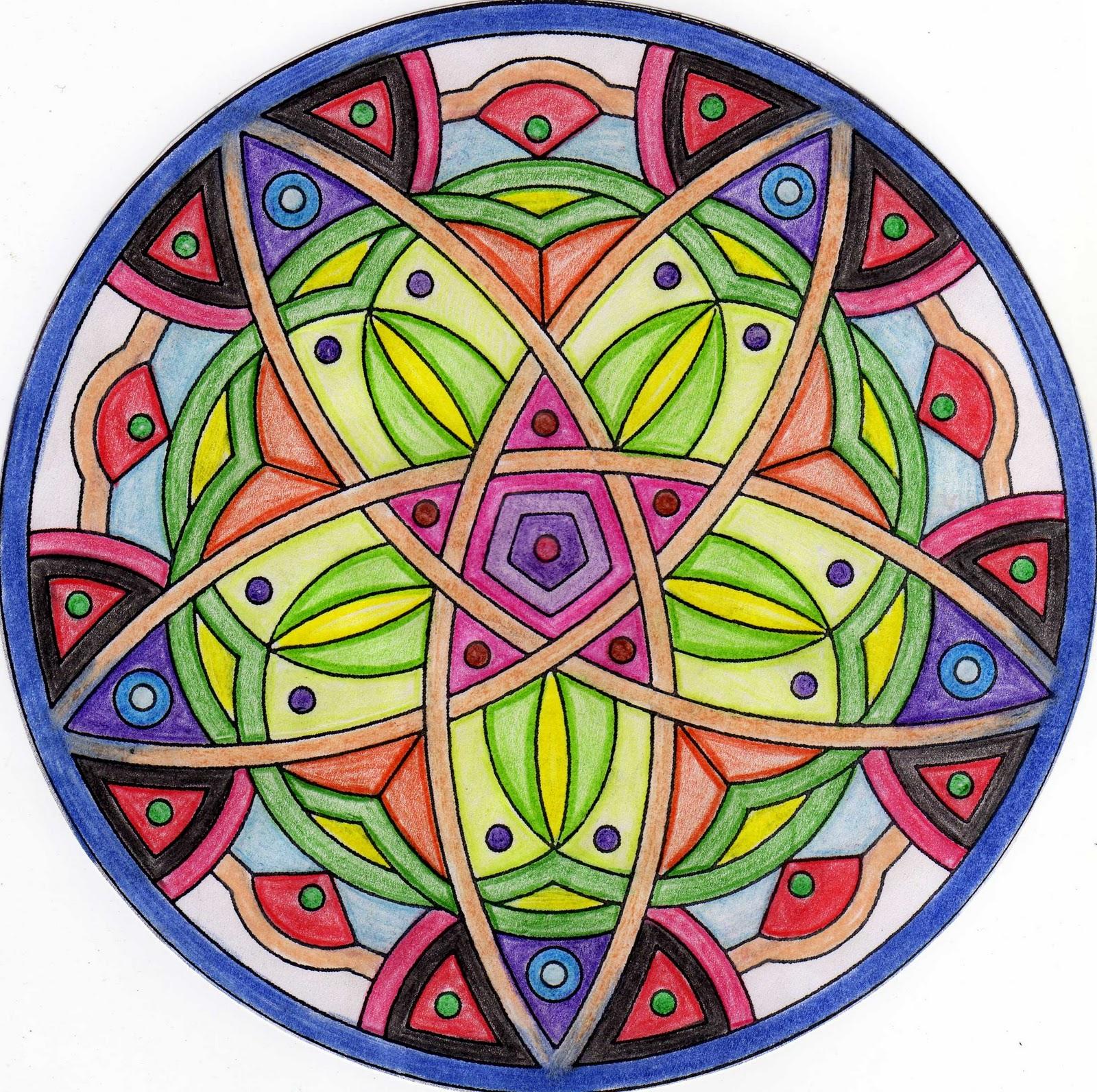 Docencia mandalas y yantras - Colores para mandalas ...