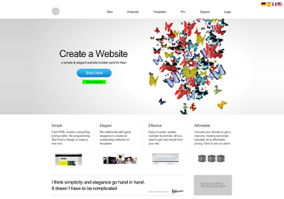 imcreator.com free online website builders