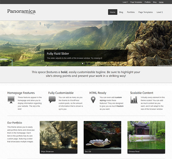 Panoramica Free WordPress Theme
