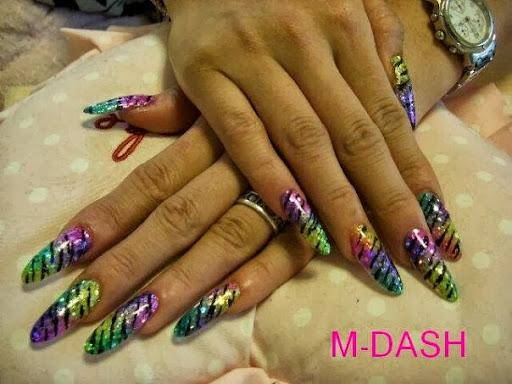 Zebra nail