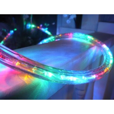 25FT MULTI COLOR LED Rope Light Kit For 12V System, Christmas Lighting, Outdoor rope lighting