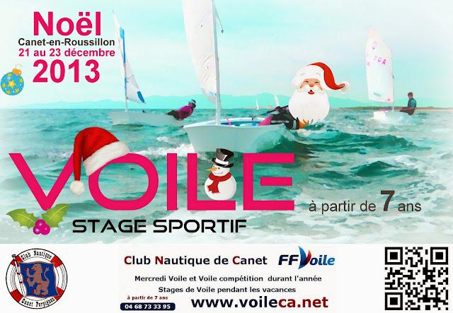 Voile Stage Noël_2013 Optimist Canet-en-Roussillon Pyrénées_orientales