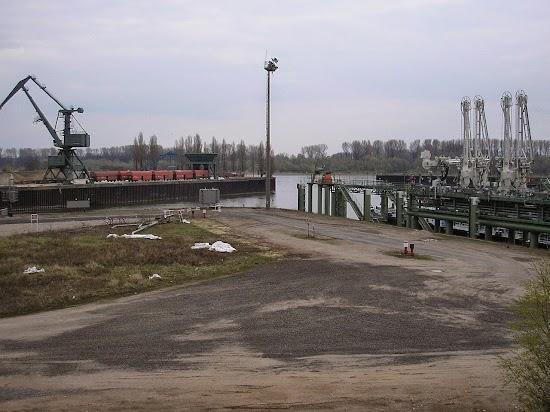 Hafenanlage.