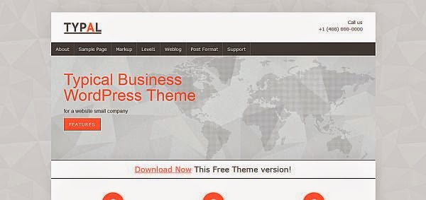 25 New Free Responsive WordPress Themes 5 25 New & Free Responsive WordPress Themes