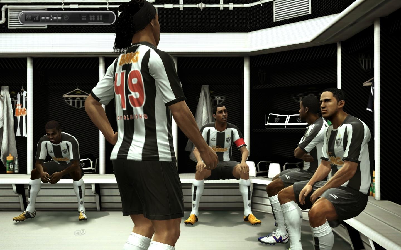 TVestiário Atlético Mineiro - PES 2013