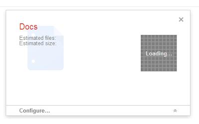 Google Takeout mit Google Docs