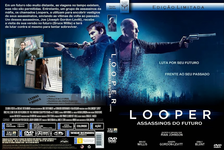 Baixar Filme Looper Assassinos do Futuro Looper Assassinos do Futuro (Looper) (2013) BDRip AVi Dublado torrent