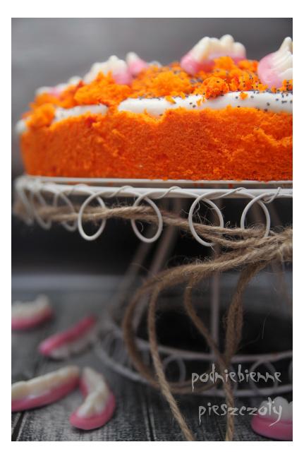 Ciasto z zębami - Halloween