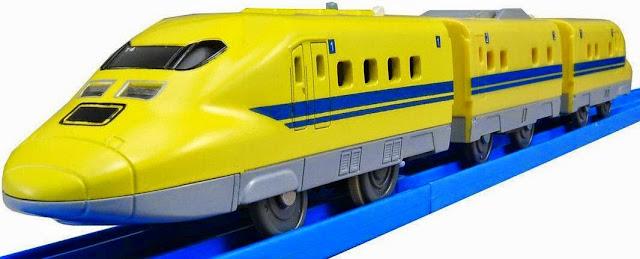 """Đồ chơi tàu hỏa có đèn S-07 Type 923 """"Dr. YELLOW"""" mô phỏng giống với thực tế"""