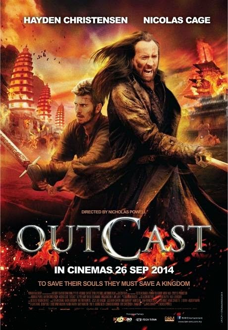 Poster Of English Movie Outcast (2014) Free Download Full New Hollywood Movie Watch Online At alldownloads4u.com