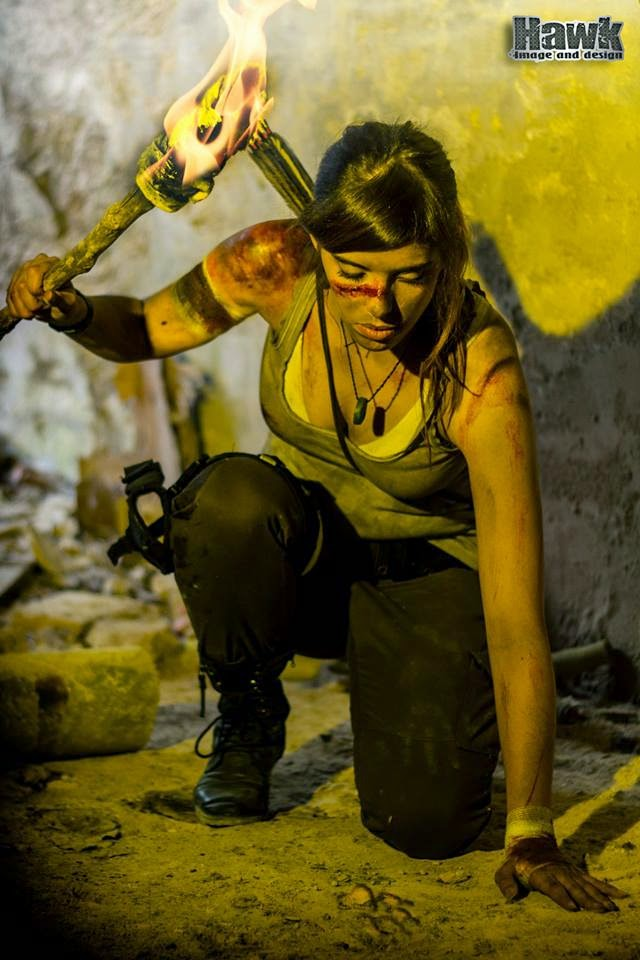 "Cosplay Lara Croft ""chất lừ"" của Larxenne - Ảnh 14"