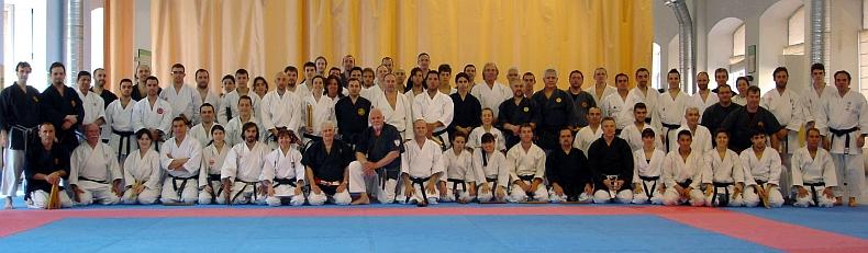 Curso de Kobudo en la Federación Madrileña de Karate