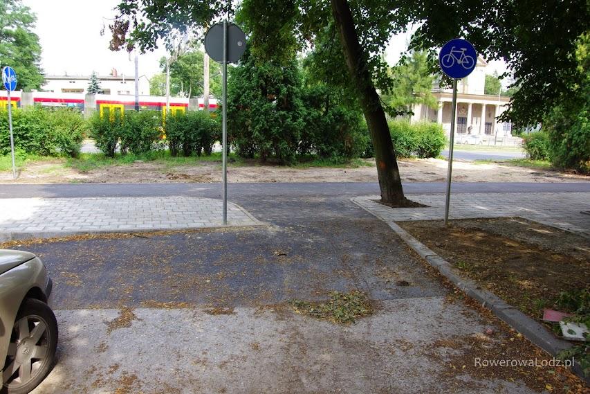 Kolejne podłączenie z ulica poprzeczna - tutaj ul. Jana.